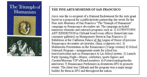Joyce recipient NEA grant for Museum Event