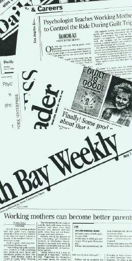 Articles and on GUILT IS GOOD Promo by Joyce Schwarz