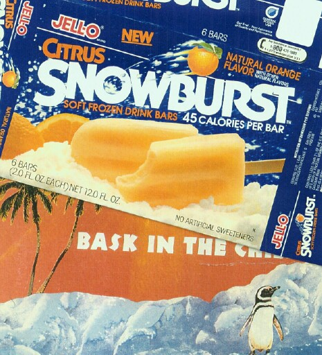 General Foods Snowburst Bars Launch
