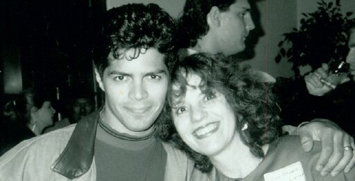 Joyce and Esai Morales @ Latino Event
