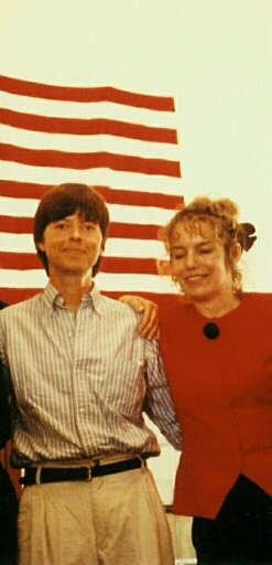 Joyce and Filmmaker Ken Burns