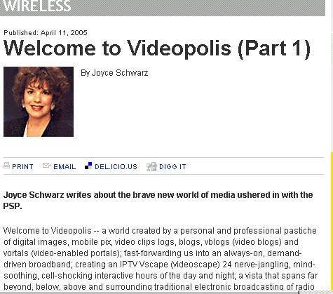 Welcome To Videopolis by Joyce Schwarz